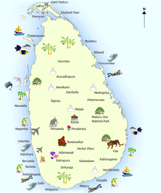 Tours in Sri Lanka