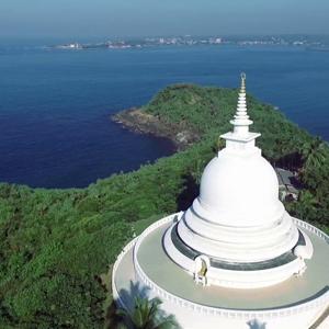 Roomassala Japanese Peace Pagoda